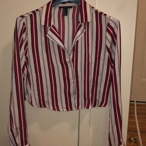 Forever 21 long sleeve mini blouses